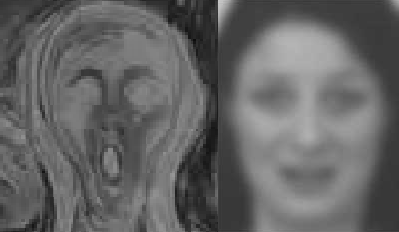 munch sammenligning - svart-hvitt