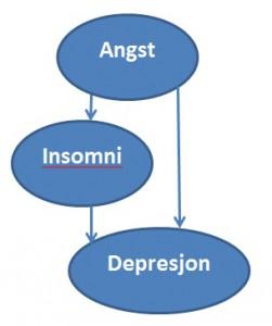 angst insomni depresjon